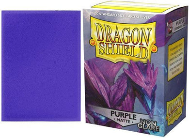 Sleeves - Dragon Shield - Box 100 - Non Glare - Purple