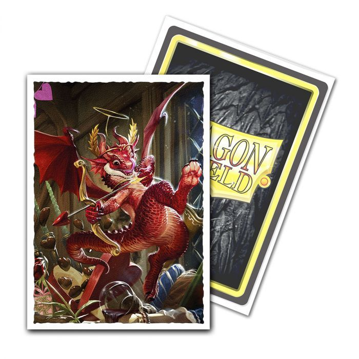 Dragon Shield - Box 100 - Matte Art - Valentine Dragon 2020