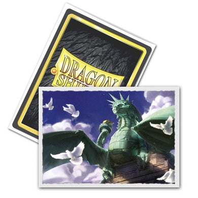 Dragon Shield - Dragon of Liberty - Box 100 - MATTE Art