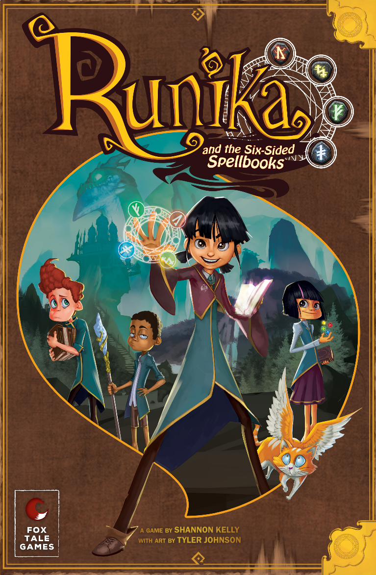 Runika and the Six Sided Spellbooks