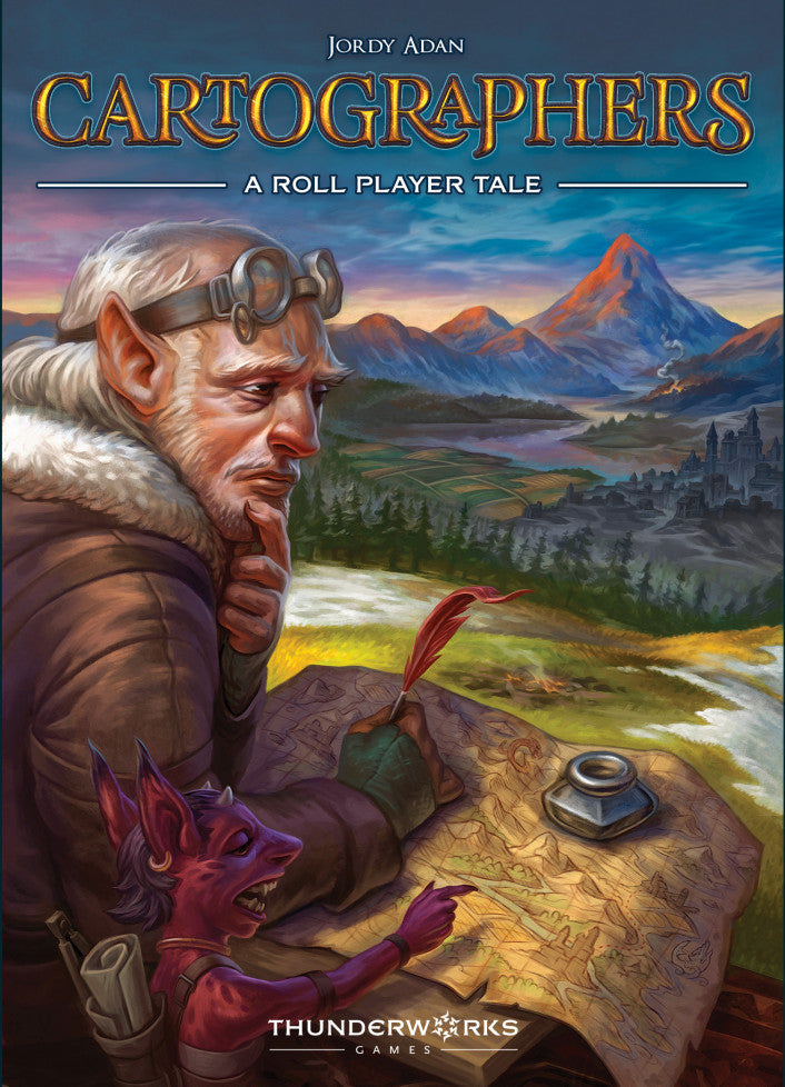 Cartographers a Roll Player Tale (Including Skills Expansion Promo)