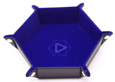 Die Hard Dice Folding Hex Tray - Blue Velvet