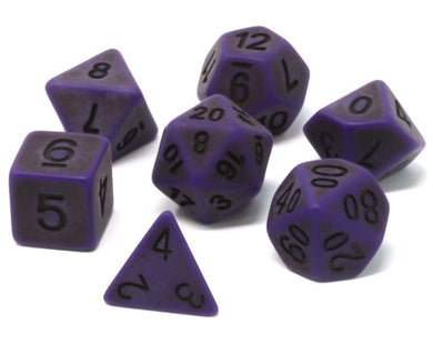 Die Hard Dice Polymer RPG Polyhedral Set - Nether Golem