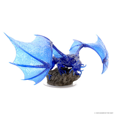 D&D Icons of the Realms Miniatures Sapphire Dragon Premium Figure