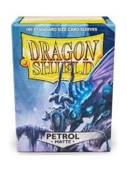Sleeves - Dragon Shield 100 - Petroleum MATTE