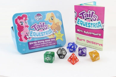 My Little Pony RPG Tails of Equestria Earth Pony Dice Set