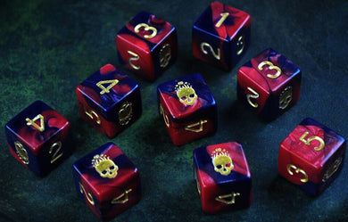 Elder Dice (d6 Tube) - Mark of the Necronomicon