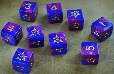 Elder Dice (d6 Tube) - Sigil of the Dreamlands