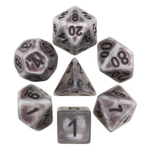 Load image into Gallery viewer, Silver Ancient Dice Set