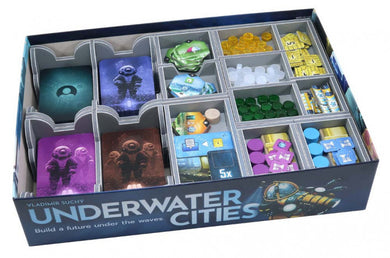 Folded Space Game Inserts - Underwater Cities
