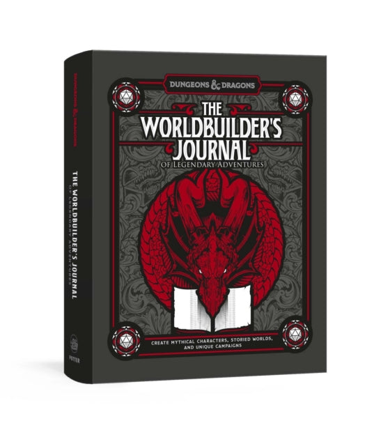 D&D: The Worldbuilder's Journal of Legendary Adventures