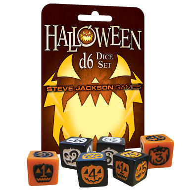 Steve Jackson Games: Halloween D6 Dice Set