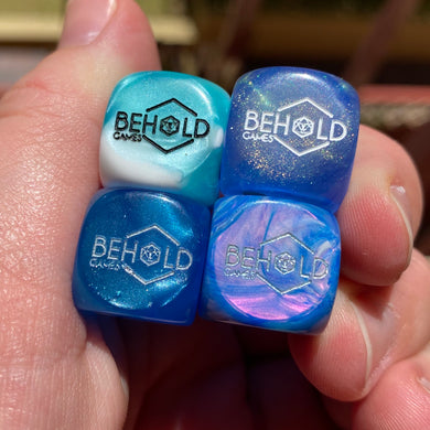 Behold Games Custom Logo Chessex Dice