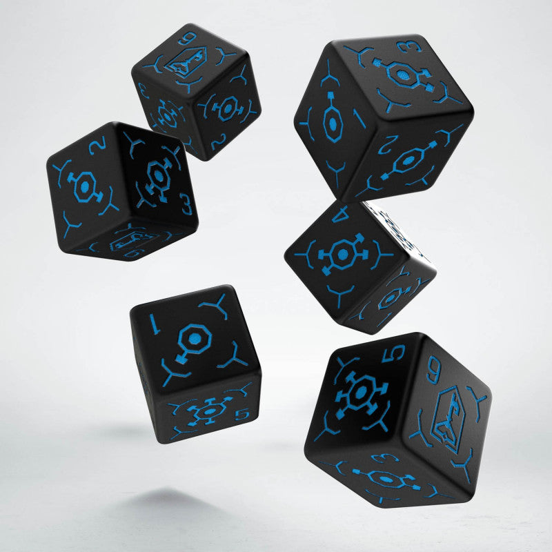 Q Workshop Ingress Resistance 6D6 Dice