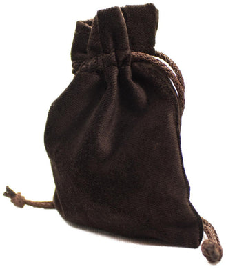 Legendary Velvet Pouch - Brown