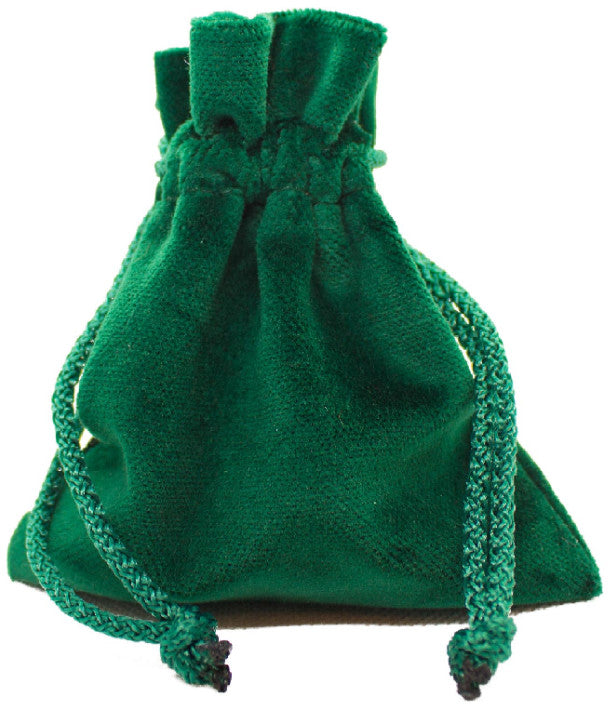 Legendary Velvet Pouch - Green