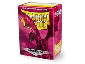 Sleeves - Dragon Shield 100 - Magenta MATTE