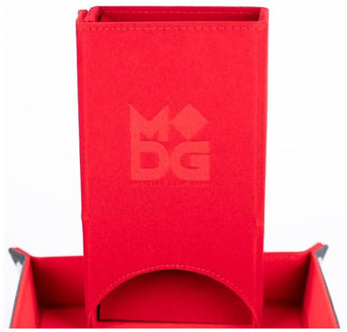 MDG - Fold Up Velvet Dice Tower (Red)