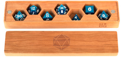 MDG Premium Wood Dice Vault - Cherry