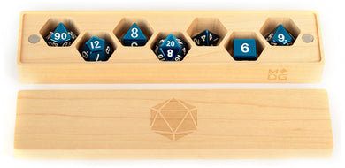 MDG Premium Wood Dice Vault - Maple