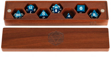 MDG Premium Wood Dice Vault - Purple Heart