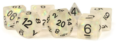 MDG - Icy Opal Clear Dice Set