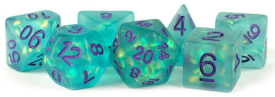 MDG - Icy Opal Teal with Purple Numbers