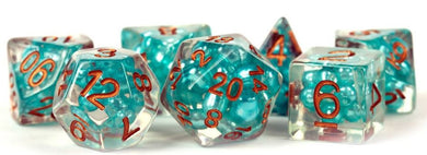 MDG - Pearl Teal with Copper Numbers