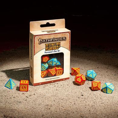 Pathfinder Extinction Curse Performers Dice Set