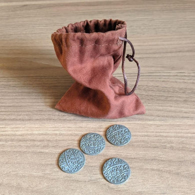 Pax Pamir (Second Edition): Metal Coins & Cloth Bag