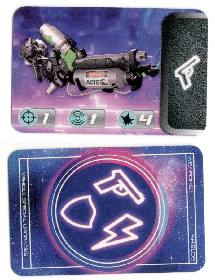 Neon Knights: 2086 – Acid Gun Promo Card