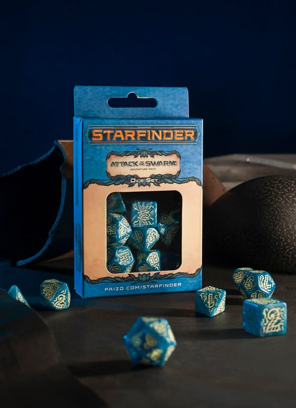 Starfinder Attack of the Swarm Dice Set