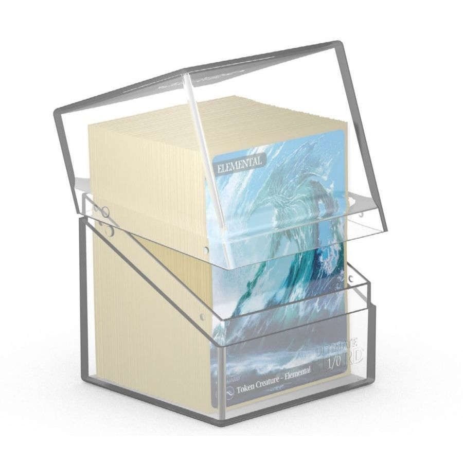 Ultimate Guard Boulder Deck Case 100+ Standard Size Clear Deck Box