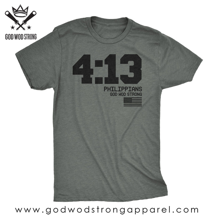 Philippians 4:13 Christian T-Shirts for Men Online