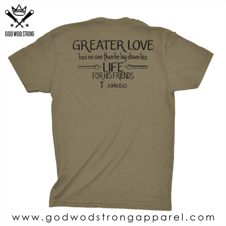 GODS ARMY MENS T SHIRT