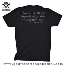 Load image into Gallery viewer, HIS STRENGTH NOT MINE MENS CHRISTIAN SHIRT