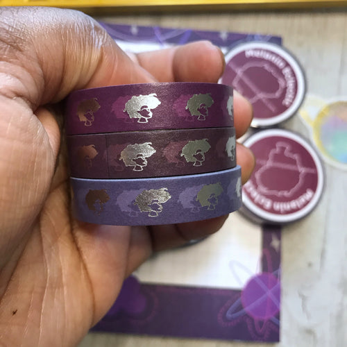 The Darker the Berry Washi Bundle