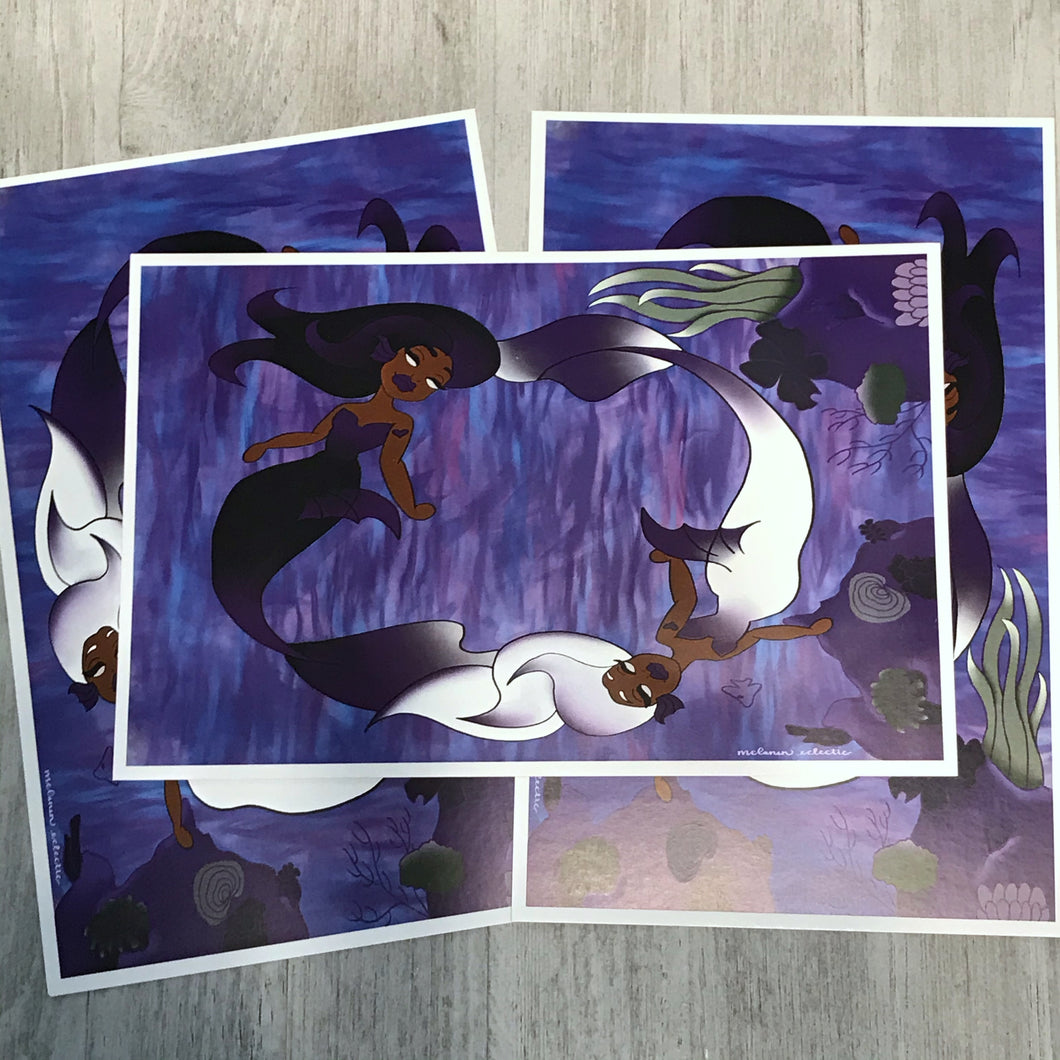 Poor Unfortunate Soul Art Print
