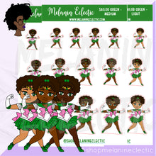Load image into Gallery viewer, Sailor Green Melanin