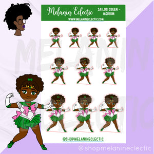 Sailor Green Melanin