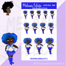 Load image into Gallery viewer, Sailor Blue Melanin