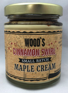 Cinnamon Swirl Maple Cream