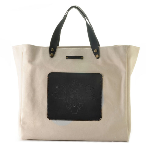 Large Yacht Tote- Black
