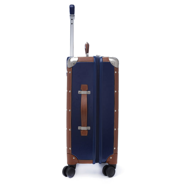 "Petit Avion - Steamer S - 20"" Trolley - Midnight Blue"