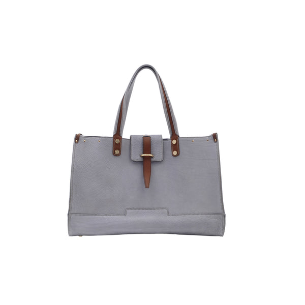 Trotter Tote - Myst Blue