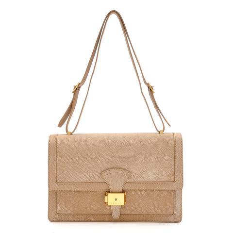 Reins Shoulder Bag - Marbled Beige