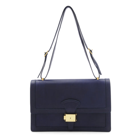 Reins Shoulder Bag - French Navy