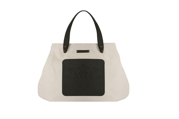 Mini Yacht Tote- Black