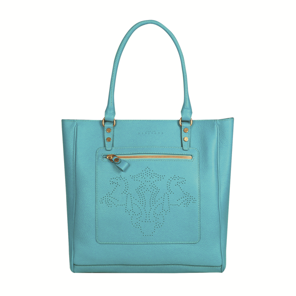 Stature Tote - Turquoise