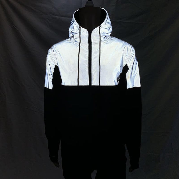 LAZYROLLING × BAESK8 Armored Reflective Jacket (Includes All Pads)